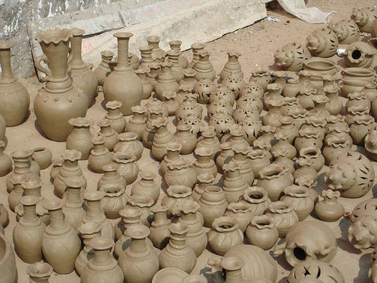 The oldest pottery village in Southeast Asia