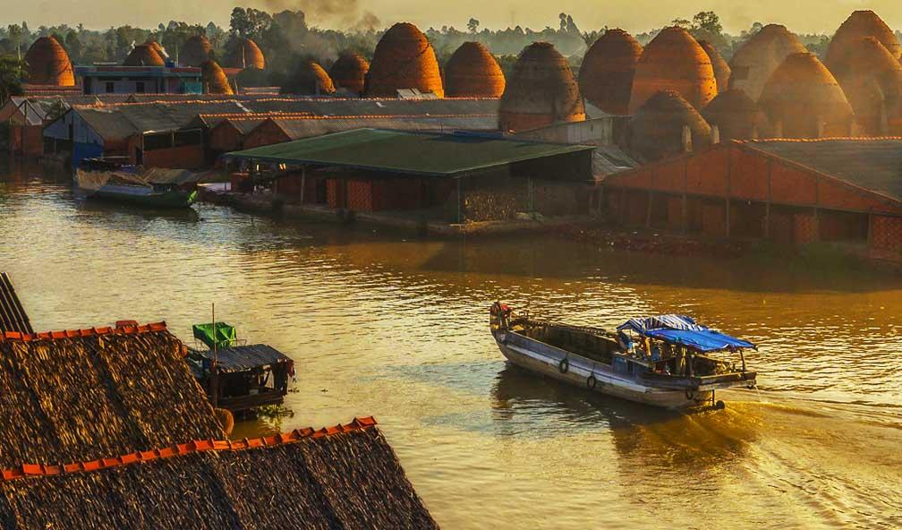 Pottery village in Vinh Long