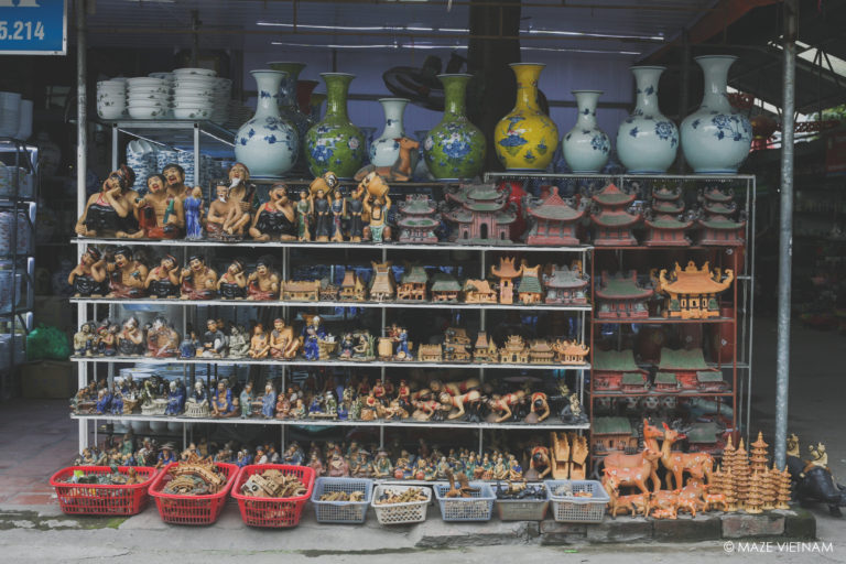 Home to the pottery families