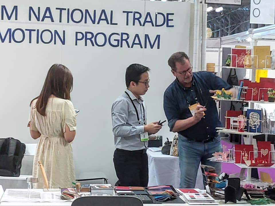 Vietcraft and its members join NY Now in New York