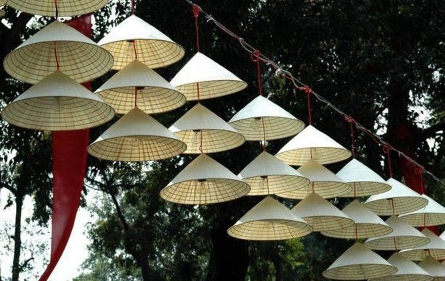Conical Hat of Chuong village