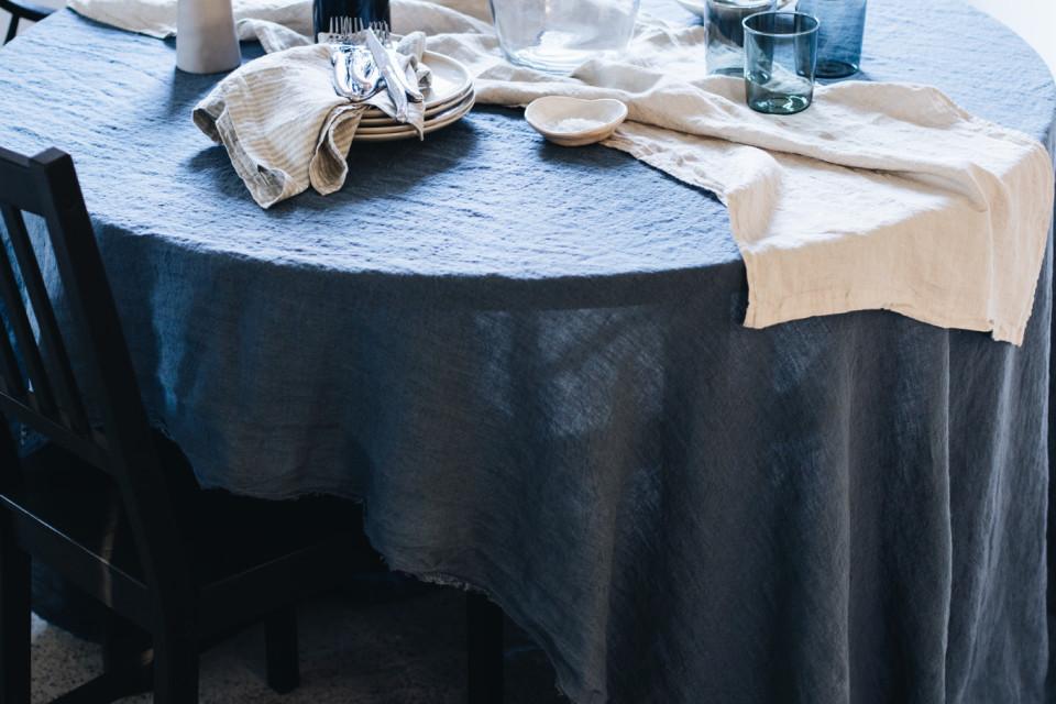 Potential European market for natural fibre table linen.